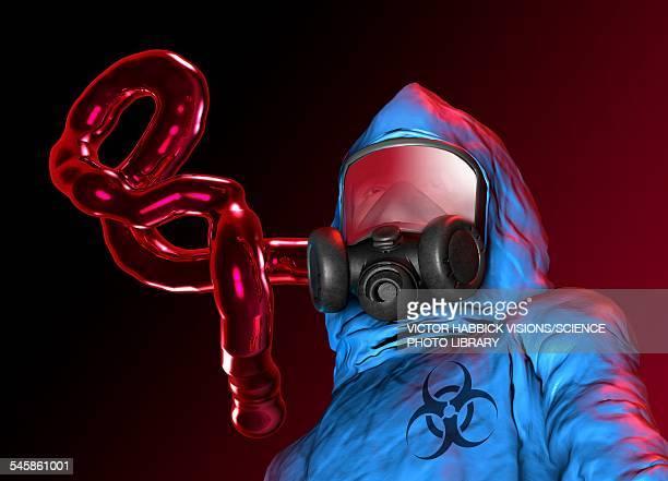 Ebola epidemic, conceptual artwork