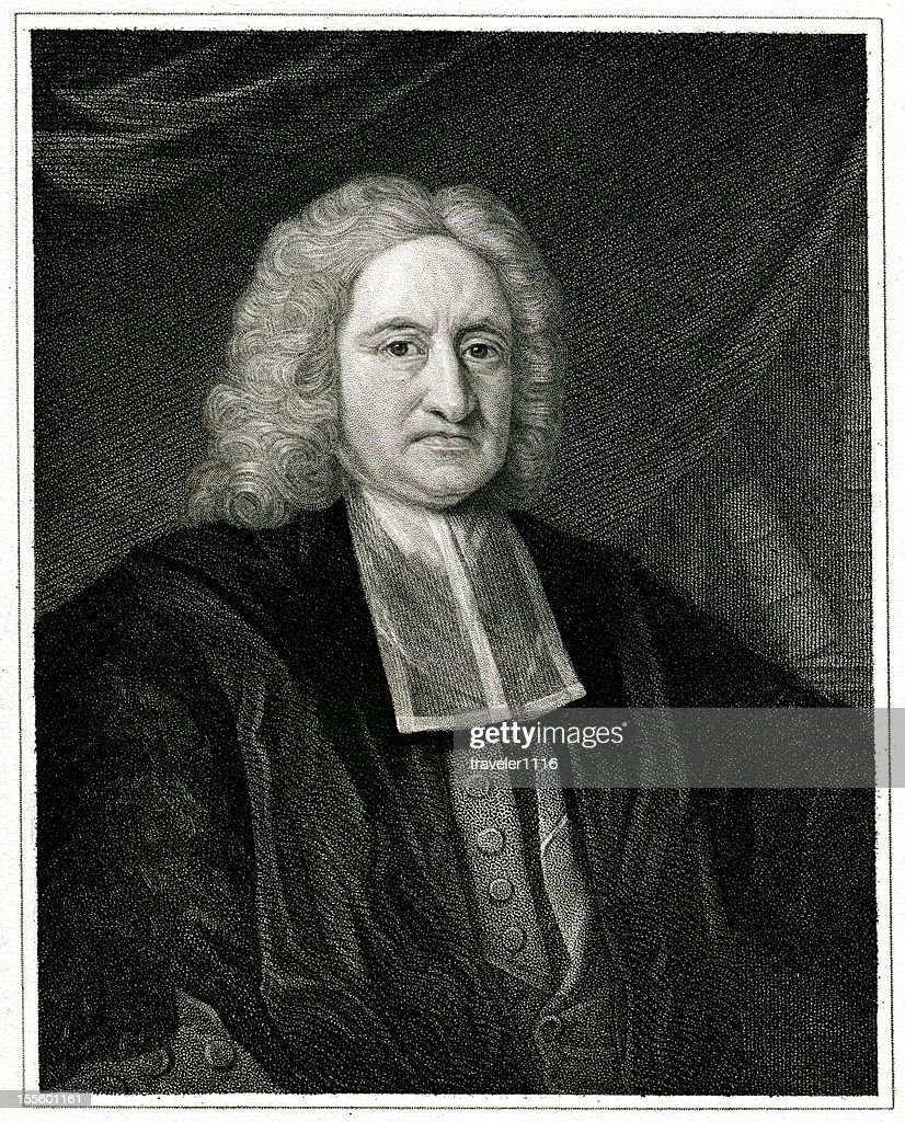 Edmond Halley : Stock-Illustration