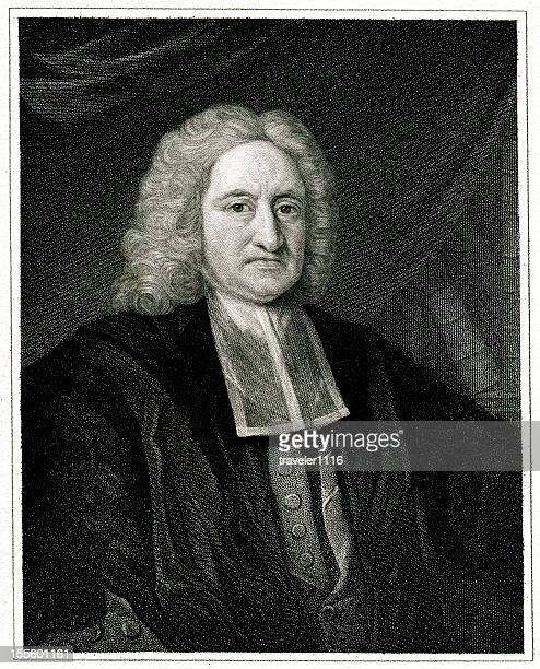 edmond halley - physicist stock illustrations, clip art, cartoons, & icons