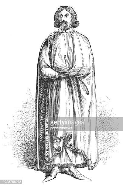 bildbanksillustrationer, clip art samt tecknat material och ikoner med edmund av langley, 1: e hertig av york - arbeten av william shakespeare - duke