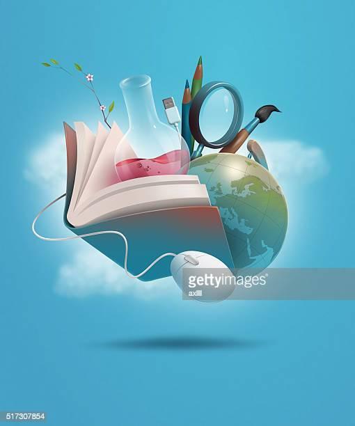 education study ken - library stock illustrations, clip art, cartoons, & icons
