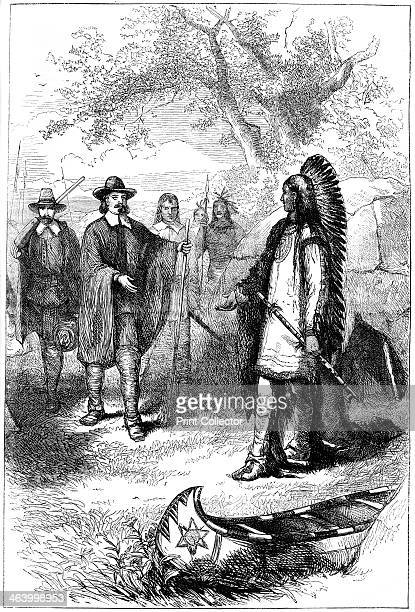 Edward Winslow's visit to Massasoit 17th century Winslow was one of the Pilgrim Fathers who arrived aboard the 'Mayflower' in 1620 to establish the...