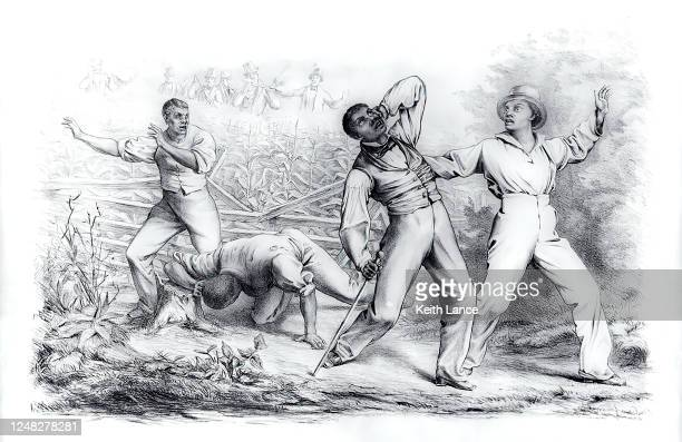 effects of the fugitive slave law (1850) - fugitive stock illustrations