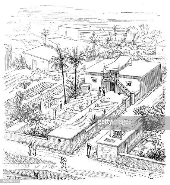 Egyptian farm house