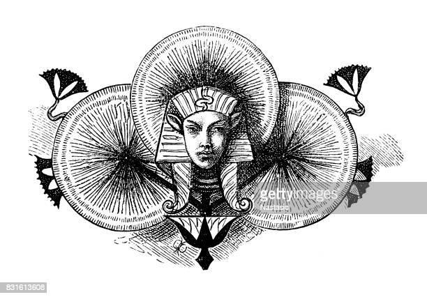 Egyptian king symbols
