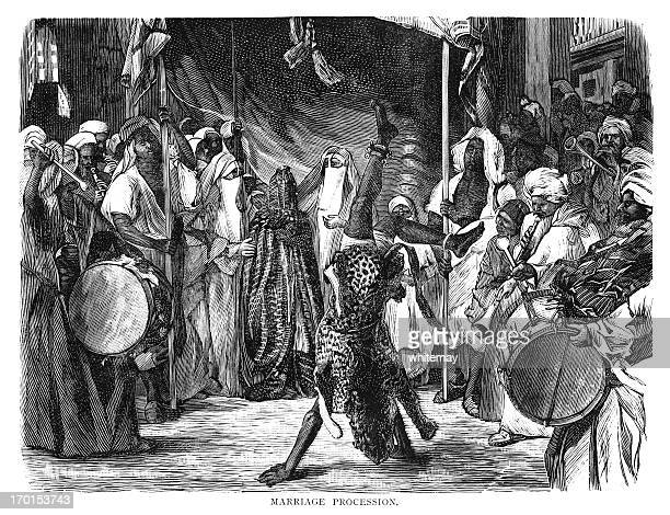 Egyptian marriage procession