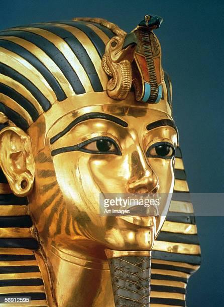 The funerary mask of Tutankhamun New Kingdom, c.1336-1327 BC