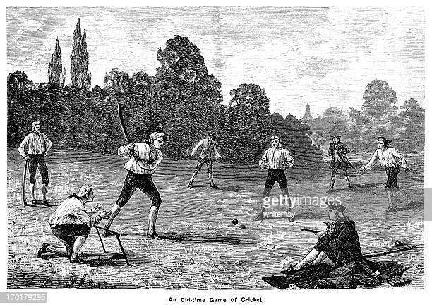 Eighteenth century cricket match