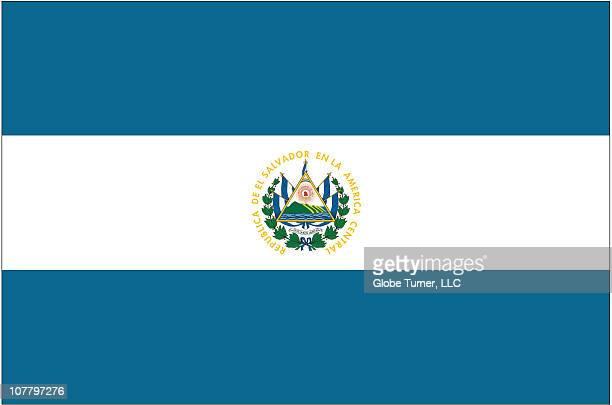 el salvador flag - エルサルバドル国旗点のイラスト素材/クリップアート素材/マンガ素材/アイコン素材