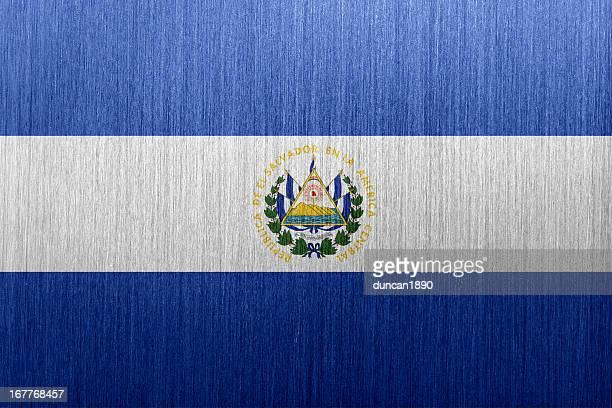 エルサルバドルのフラグ - エルサルバドル国旗点のイラスト素材/クリップアート素材/マンガ素材/アイコン素材