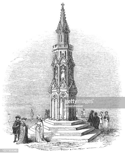 Eleanor Cross at Charing Cross in Westminster, London, England