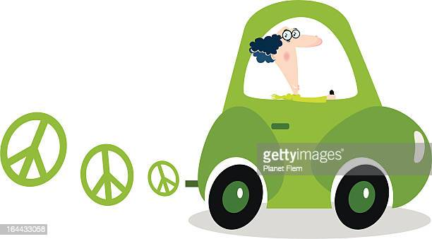 electric eco-friendly car