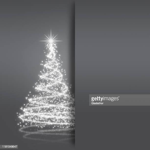 ilustraciones, imágenes clip art, dibujos animados e iconos de stock de elegante tarjeta de felicitación de navidad - galaxia espiral