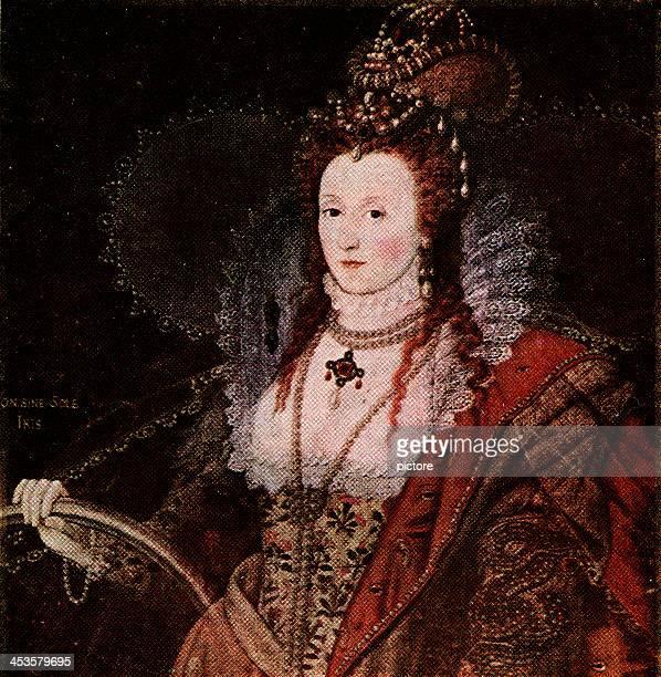 エリザベス・i 、英国女王ます。 - 女王点のイラスト素材/クリップアート素材/マンガ素材/アイコン素材