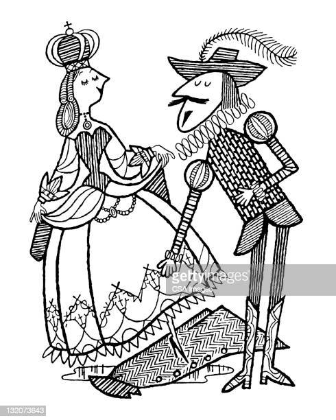 Elizabethan Man and Woman