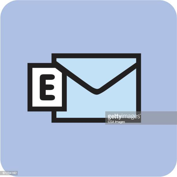 email - receiving stock illustrations