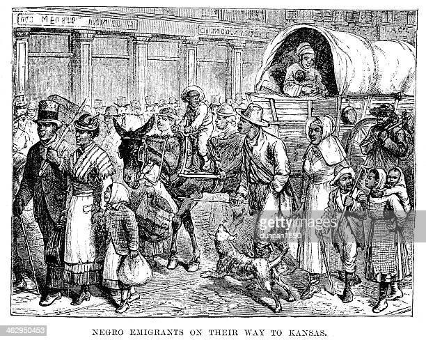Emigrants on their way to Kansas