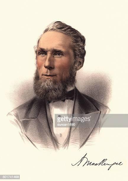 Eminent Victorians - Portrait of Alexander Mackenzie