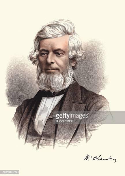 Eminent Victorians - Portrait of William Chambers