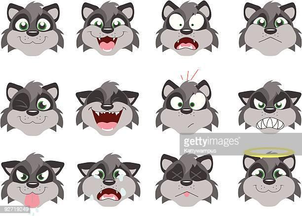 ilustraciones, imágenes clip art, dibujos animados e iconos de stock de emoticoons - inocentada