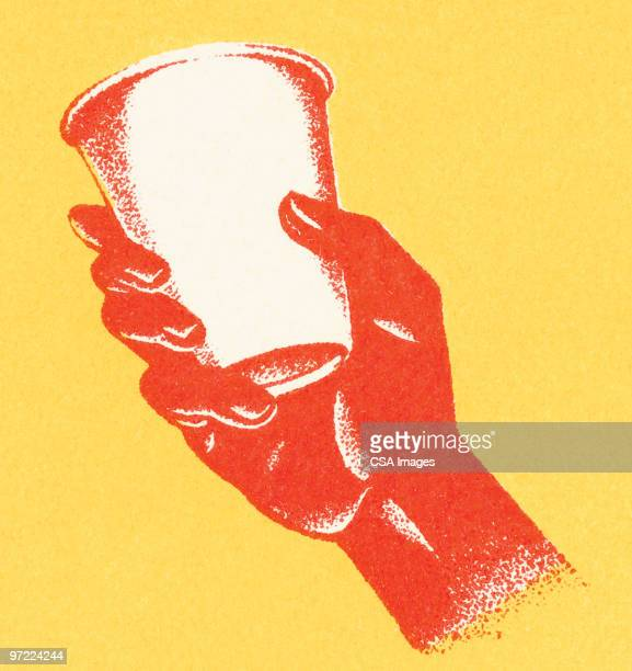 empty cup - image stock illustrations