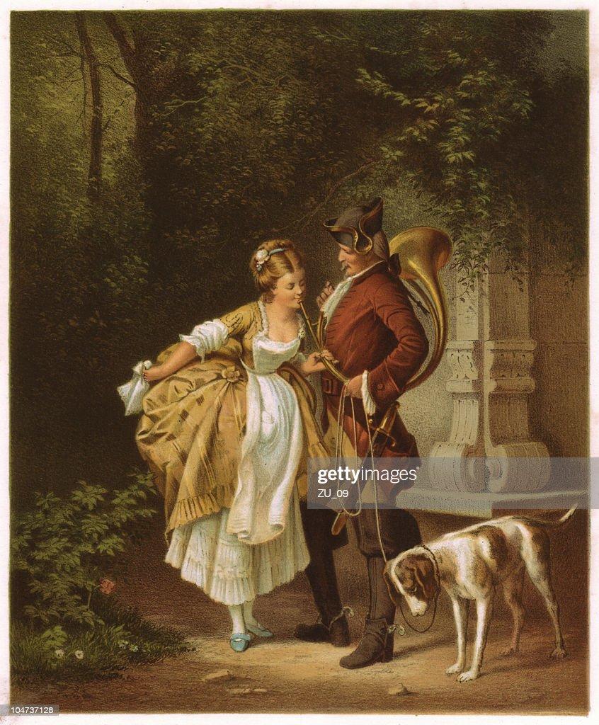 En Passant : Ilustración de stock