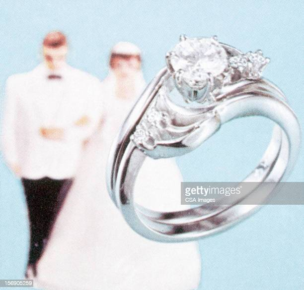engagement ring, bride, and groom - {{relatedsearchurl('racing')}} stock illustrations, clip art, cartoons, & icons