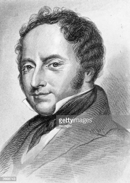 English architect Sir Charles Barry who designed the new Palace of Westminster in 1840