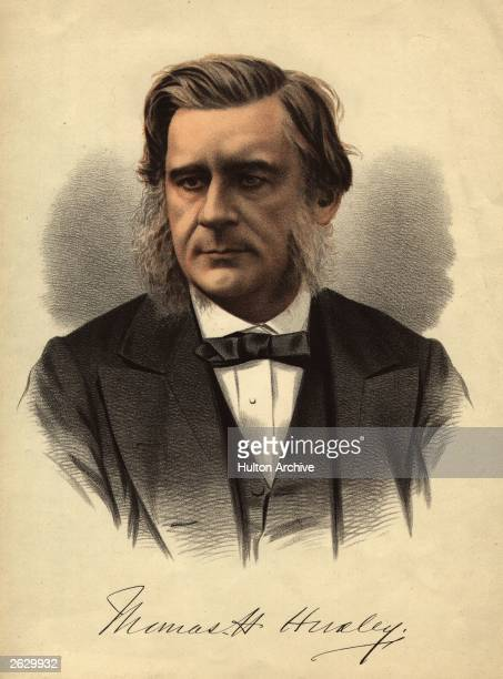 English biologist Thomas Henry Huxley , professor of natural history at the Royal School of Mines and foremost scientific supporter of Charles...