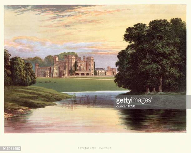 English country mansions - Sundorne Castle, Shrewsbury, Shropshire