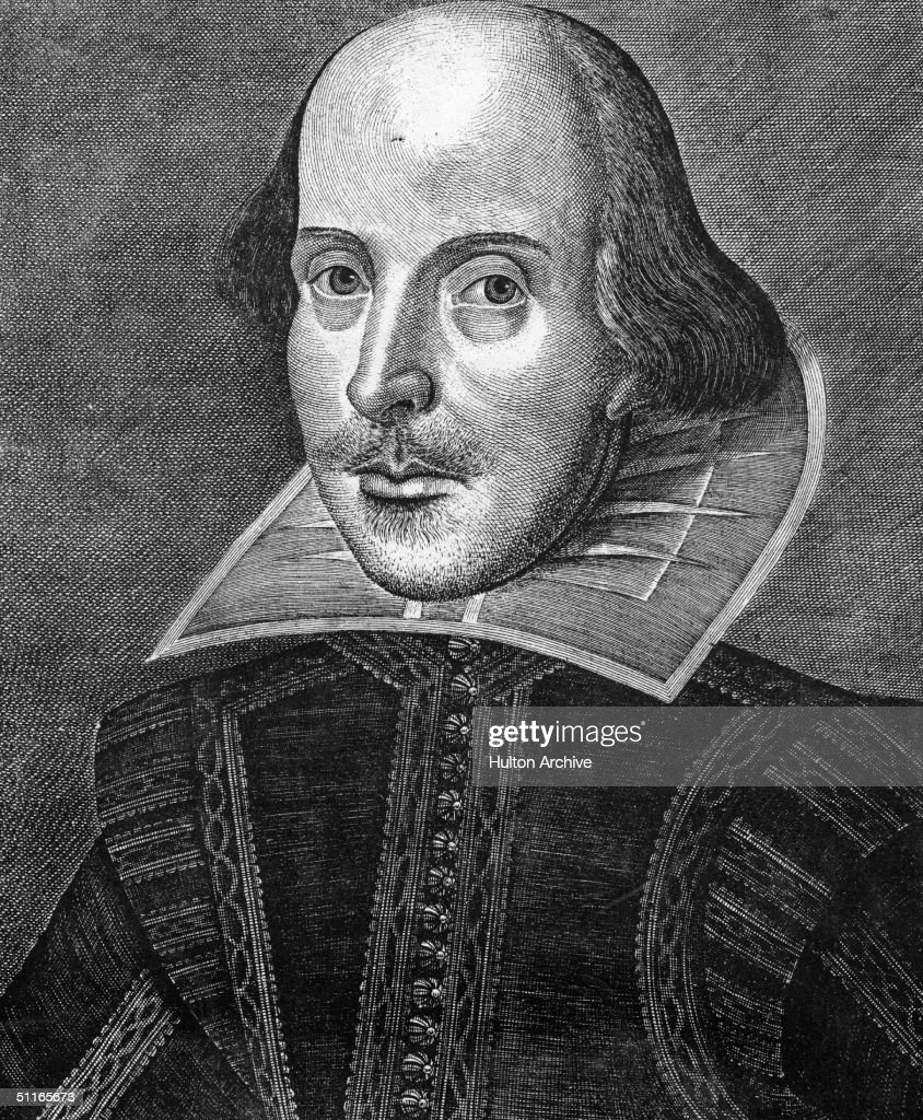 English dramatist William Shakespeare (1564 - 1616), circa 1600.