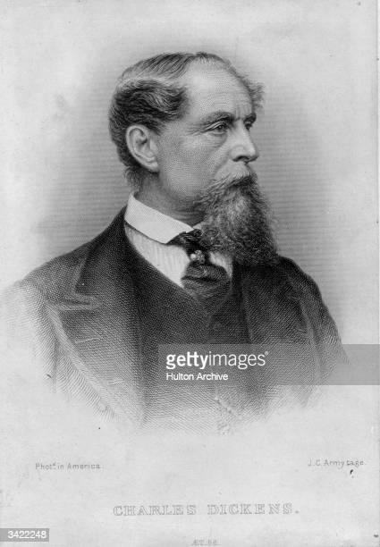 English novelist Charles Dickens