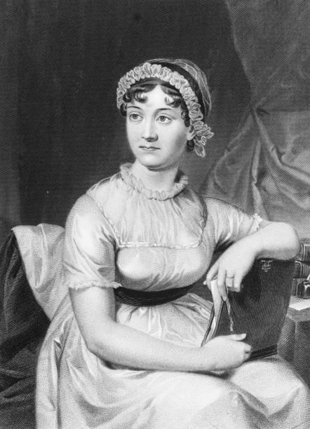 English novelist Jane Austen from an original family...