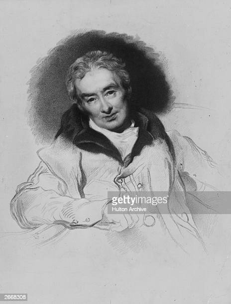 English philanthropist William Wilberforce , abolitionist of the slave trade. Original Artwork: Engraving after portrait by Sir Thomas Lawrence.
