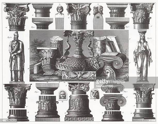 Engraving: Capitals and Bases