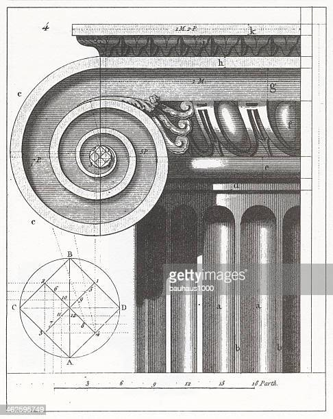 Engraving: Ionic Column