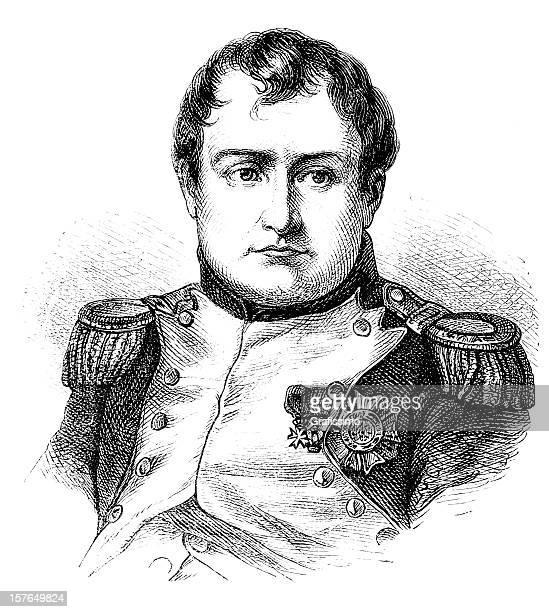 illustrations, cliparts, dessins animés et icônes de gravure de l'empereur napoléon bonaparte 1870 - guerres napoléoniennes