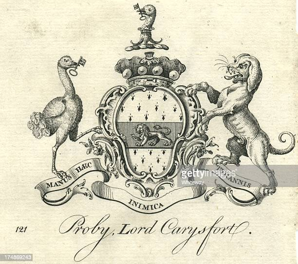 Coat of Arms Proby Lord Carysfort