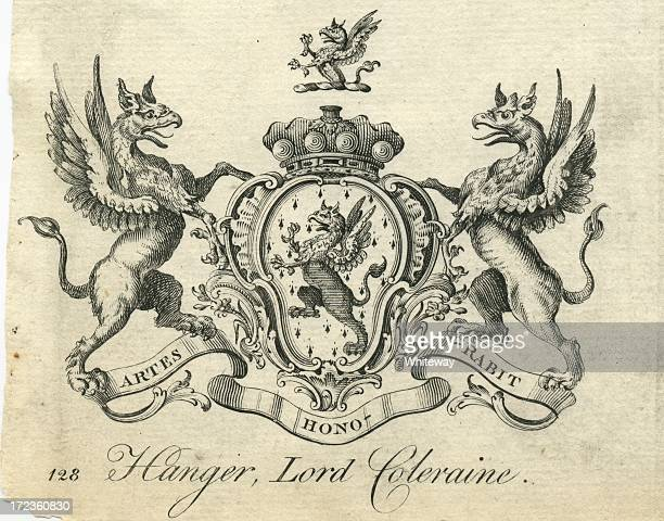 Coat of Arms Hanger Lord Coleraine 18th century