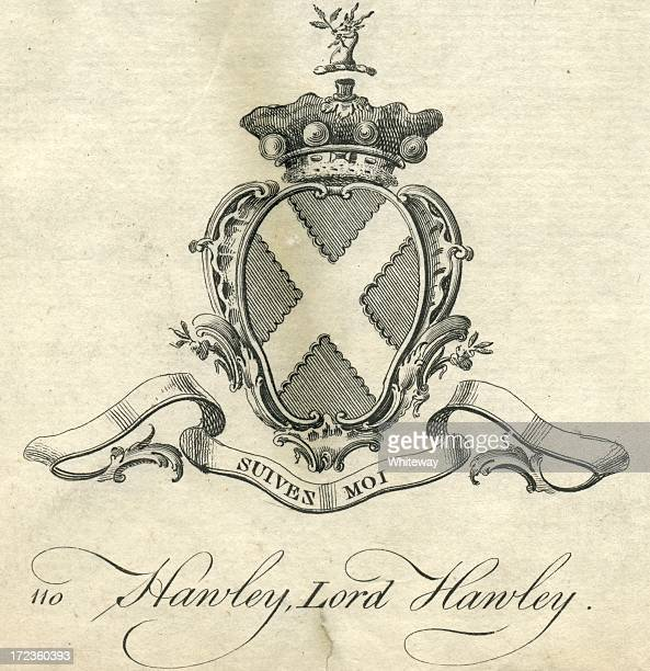 Coat of arms Lord Hawley 18th century