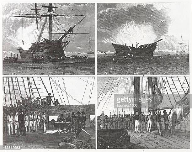 Engraving: Ship Incidents