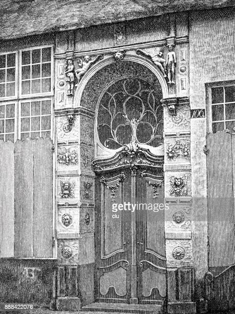 詩人エマニュエル geibel 発祥の地の入口 - 名作 発祥の地点のイラスト素材/クリップアート素材/マンガ素材/アイコン素材