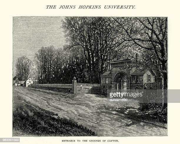Entrance to Clifton Park, Baltimore, 19th Century