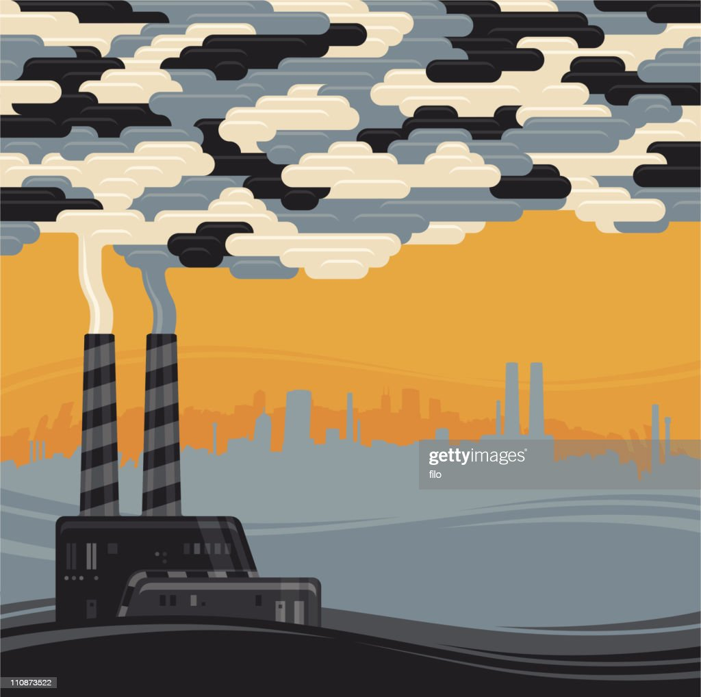 Environmental Pollution : stock illustration