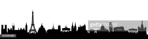ilustrações, clipart, desenhos animados e ícones de a europa - partenão acrópole