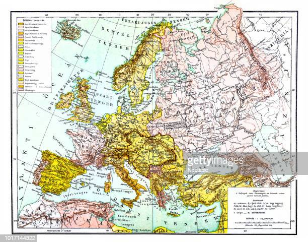 Europe's political map in 19th century