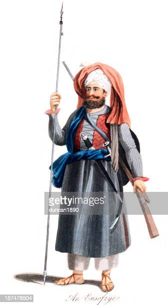 Eusofzyes Afghan  Warrior Period Costume