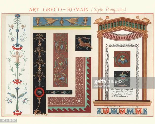 Illustrazioni e cartoni animati stock di stile greco for Design in stile romano