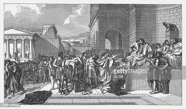 Execution of the sons of Lucius Junius Brutus, published 1878