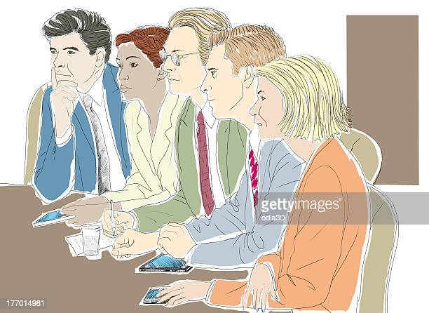Executives in conference room